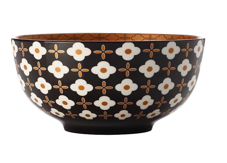CHRISTOPHER VINE Marigold Bowl – White Flower (18cm) CV60118