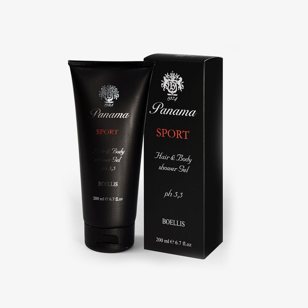 PANAMA Boellis – SPORT Hair & Body Shower Gel 200 Ml