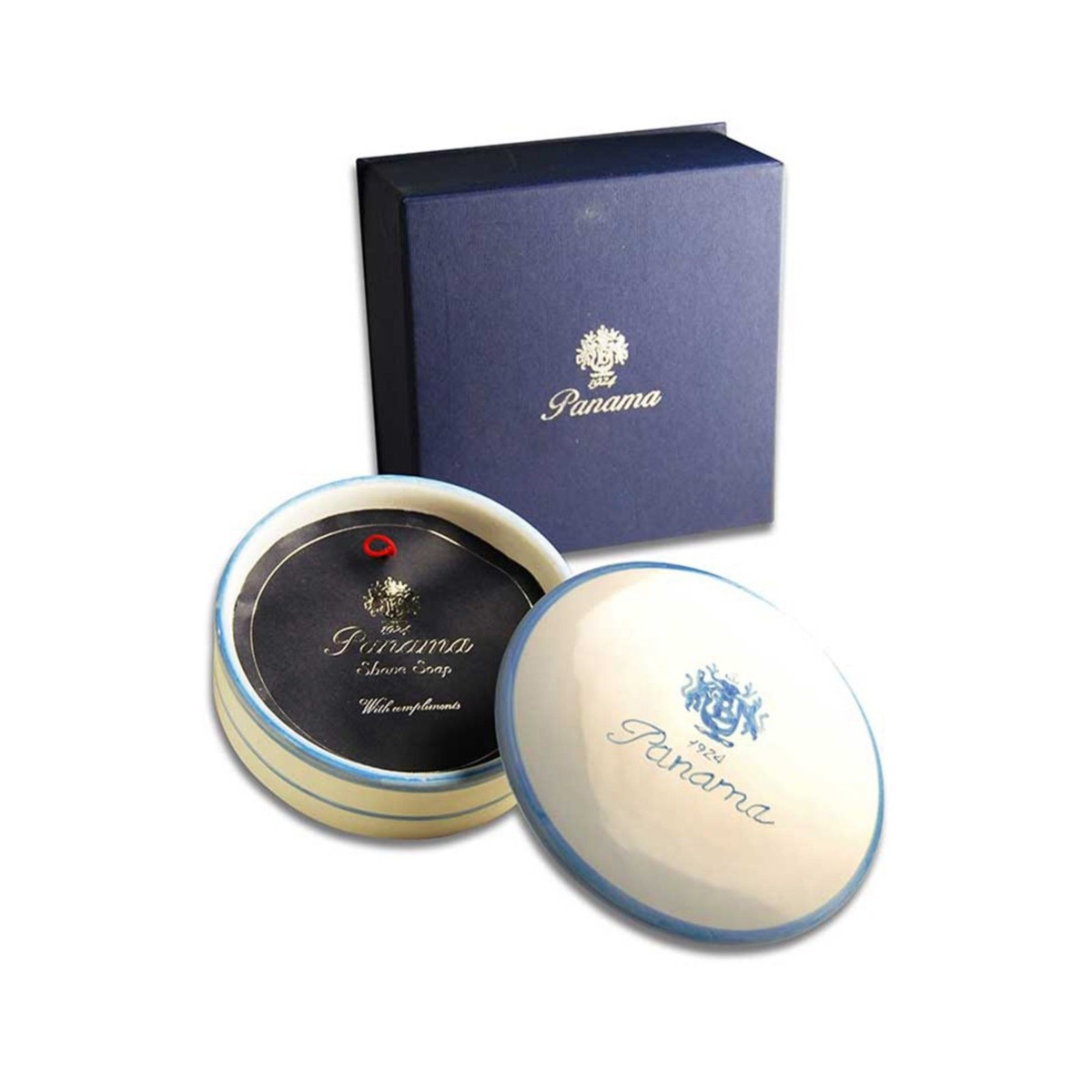 Panama 1924 Boellis COFFRET SHAVE SOAP 250gr Made In Italy