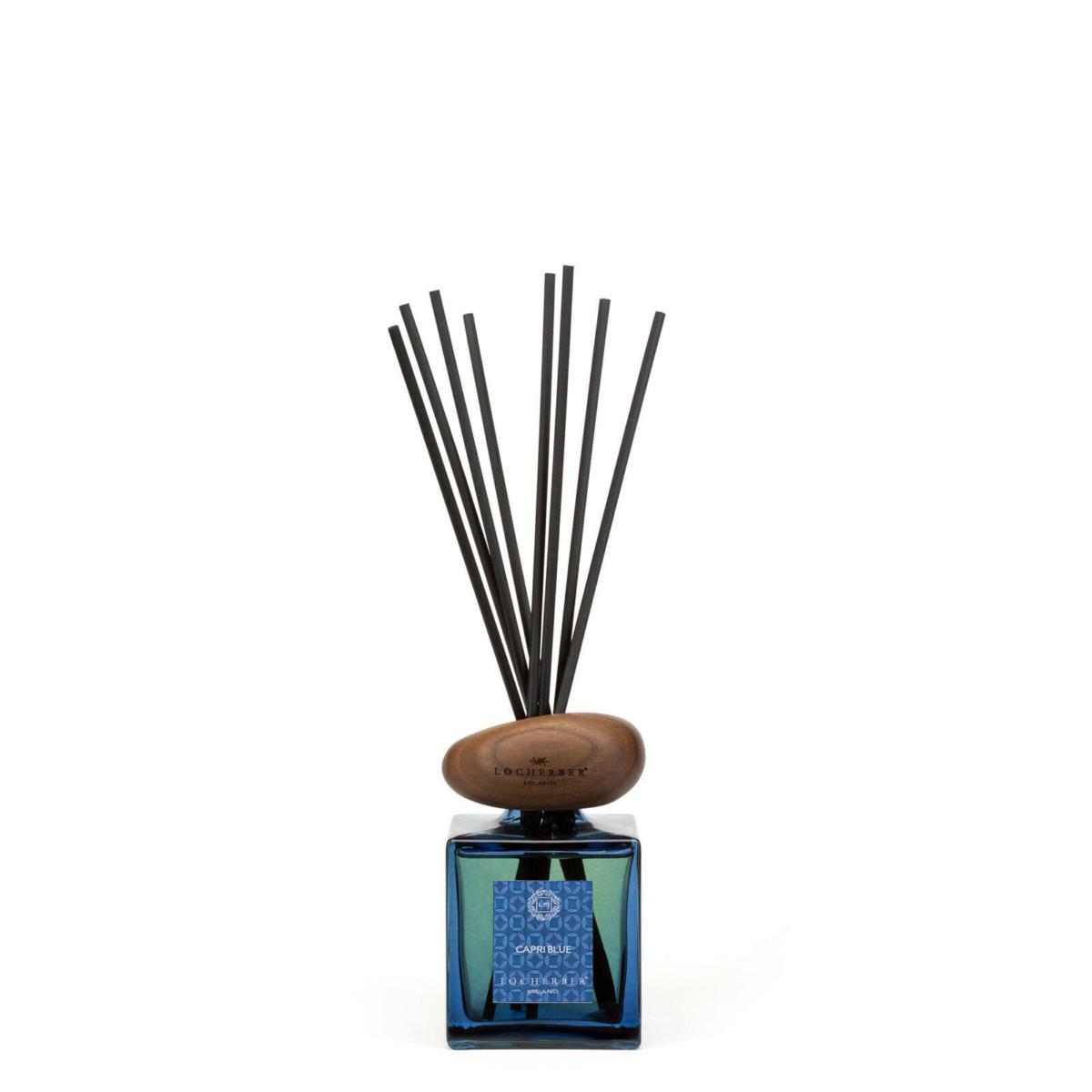 LOCHERBER MILANO DIFFUSORE BASTONCINI CAPRI BLUE TAPPO TS WOOD Limited Edition 250ML