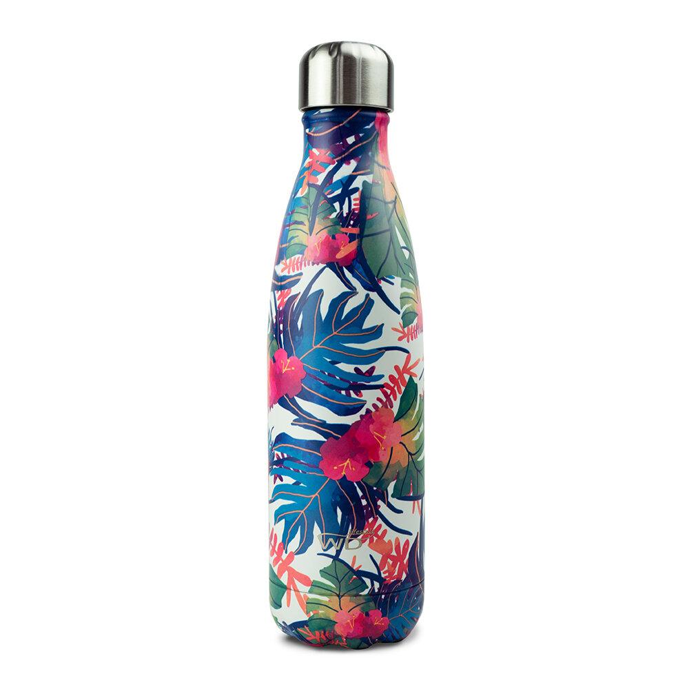 WD Lifestyle | Bottiglia Termica Con Decoro Tropical 500 Ml