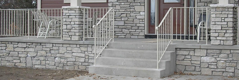 Loftus Custom Interior And Exterior Railings Steps Fences   Railings For Brick Steps   Steel Handrail   Front Door   Staircase   Railing Ideas   Handrails