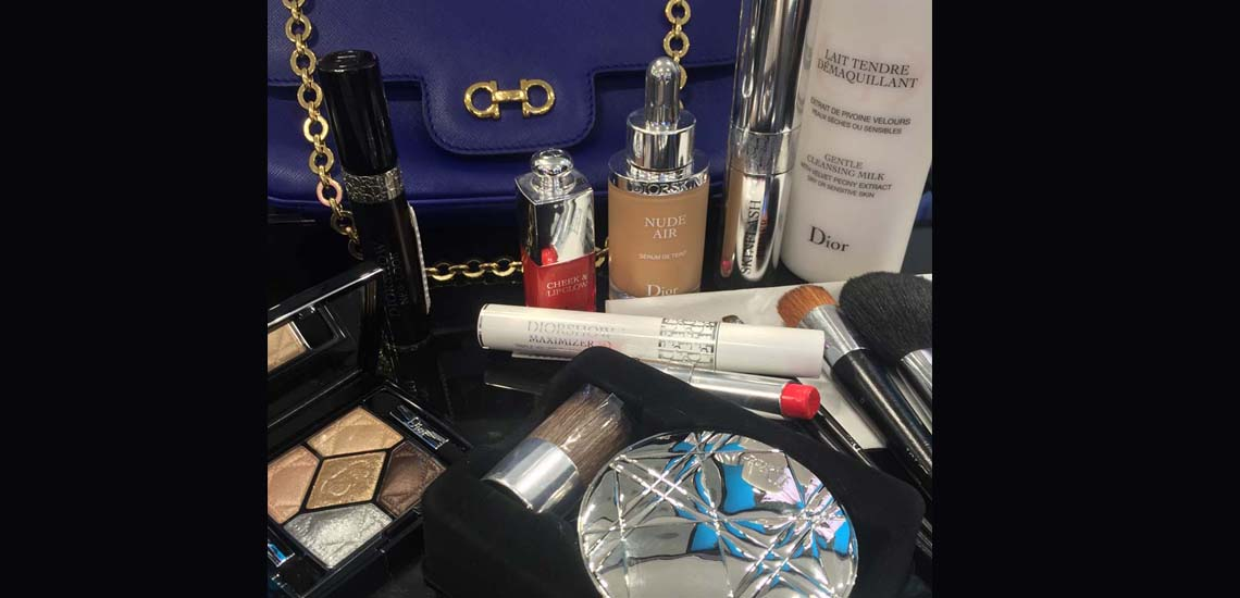 Dior make up look for the Autumns