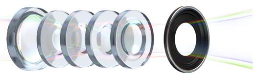 Yeni iPad - 5 elementli lens