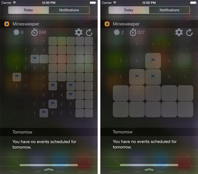 Minesweeper-Widget-Editio-iOS-game