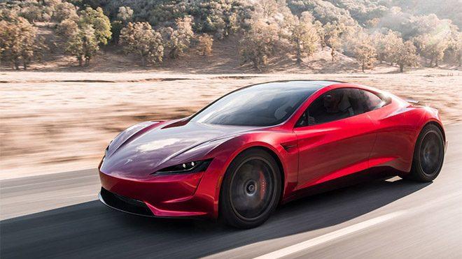 Tesla Roadster Elon Musk Mars Falcon Heavy