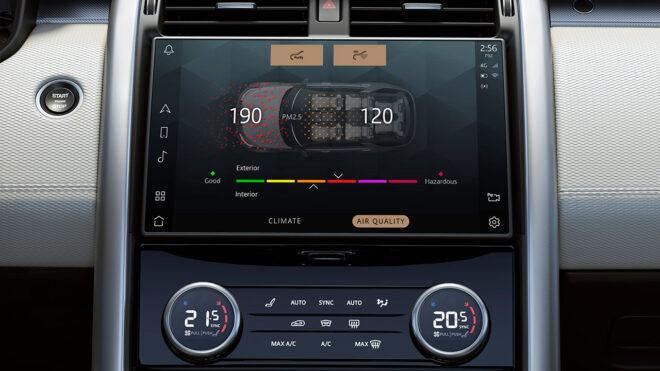 7 kişilik teknoloji üssü; Yeni Land Rover Discovery ile tanışın 14