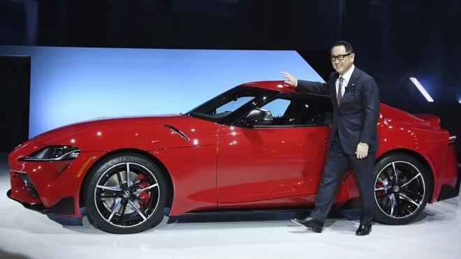 Toyota CEO'su Akio Toyoda
