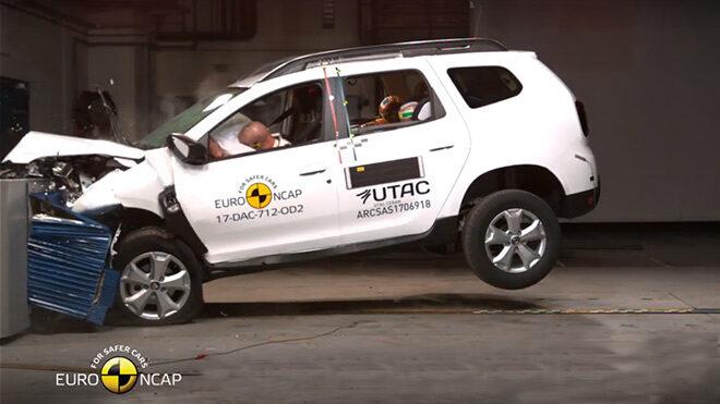 Dacia Duster Euro NCAP