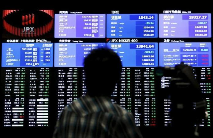 [NEWS] Asia lifted as Wall Street climbs on trade developments, pound sags – Loganspace AI