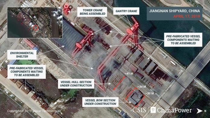 [NEWS] Exclusive: Images show construction on China's third and largest aircraft carrier – analysts – Loganspace AI