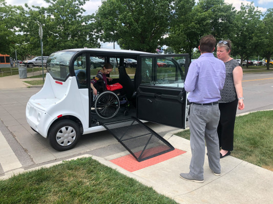 [NEWS] May Mobility reveals prototype of a wheelchair-accessible autonomous vehicle – Loganspace