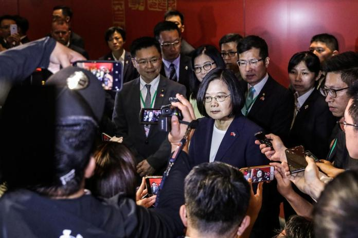 [NEWS] Taiwan president in U.S. after warning of threat from 'overseas forces' – Loganspace AI