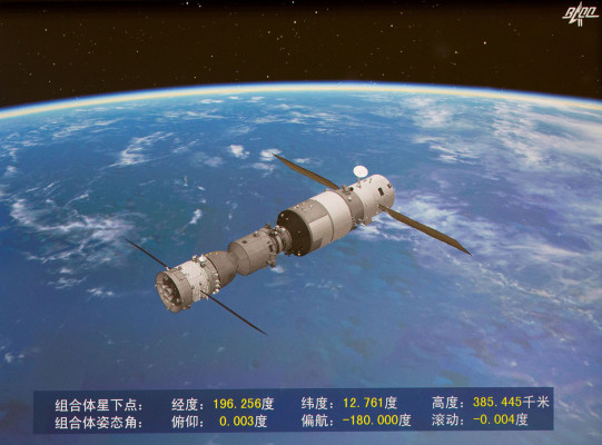 [NEWS] Chinese space station Tiangong-2 is about to burn up over the Pacific – Loganspace