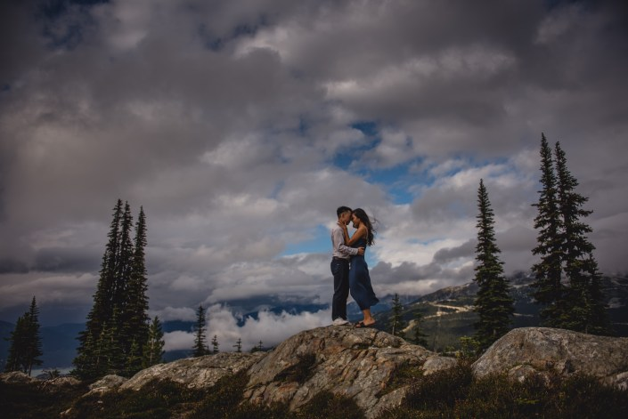 whistler engagement photography roundhouse