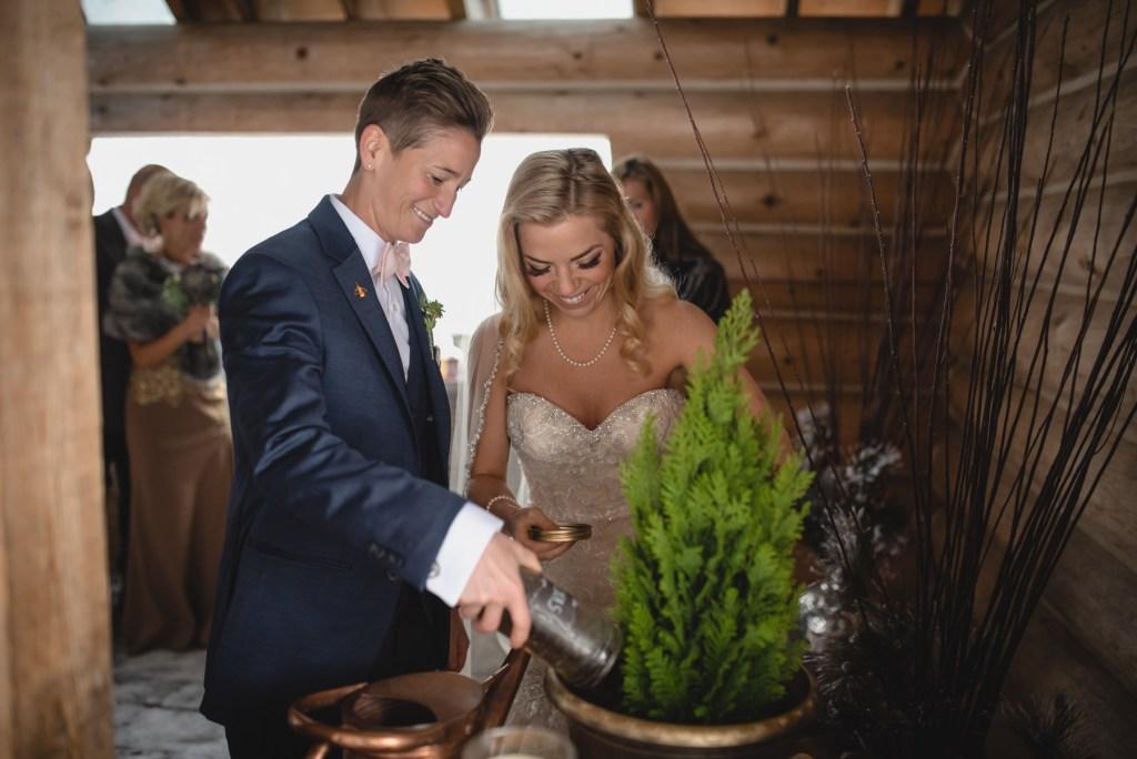 same sex couple wedding ceremony tradition