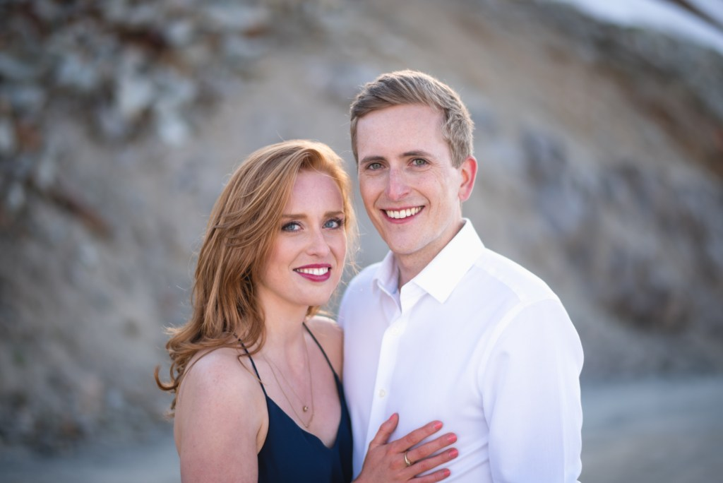 A portrait of c couple in Whistler