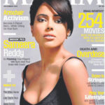 Sameera Reddy poses for Maxim December 2009 Cover Page