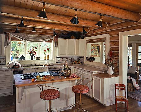 practical lighting tips for log homes