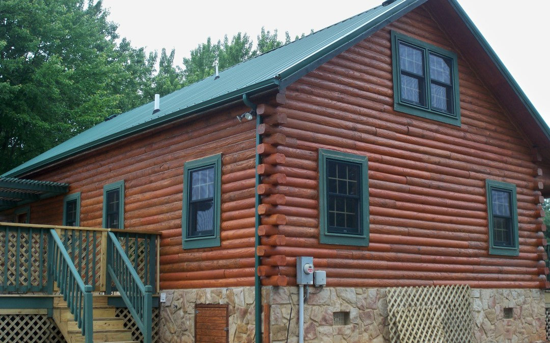 Complete Log Home Restoration