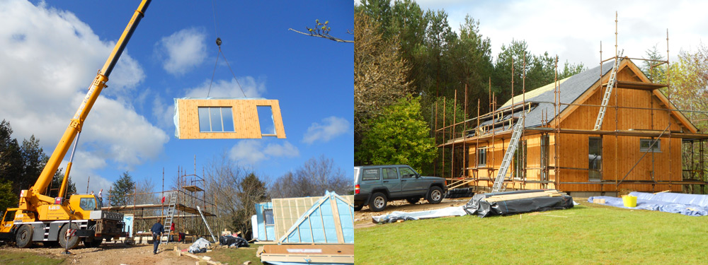 January 2014 – House built in record time 10 HOURS