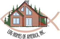 Log Homes of America Logo