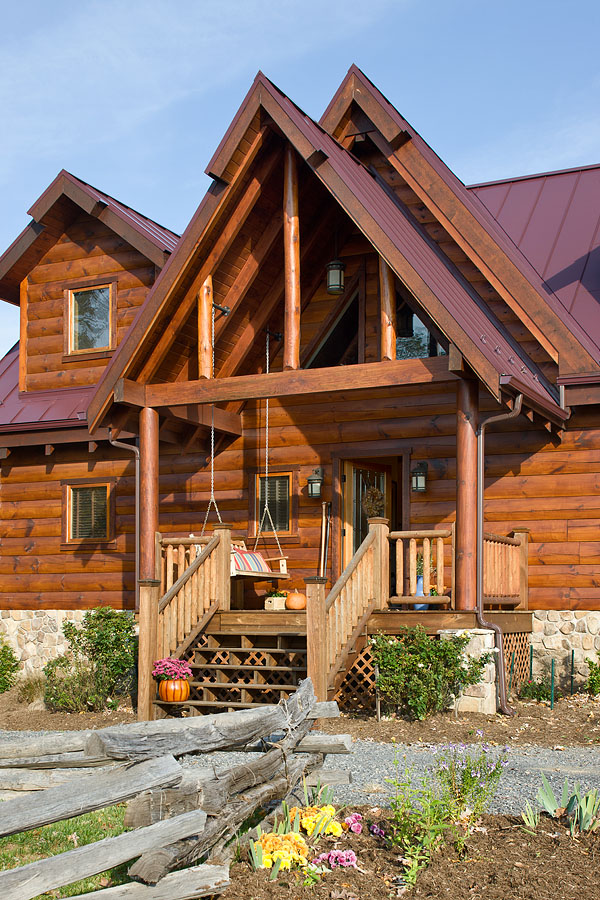 Log Home Entry