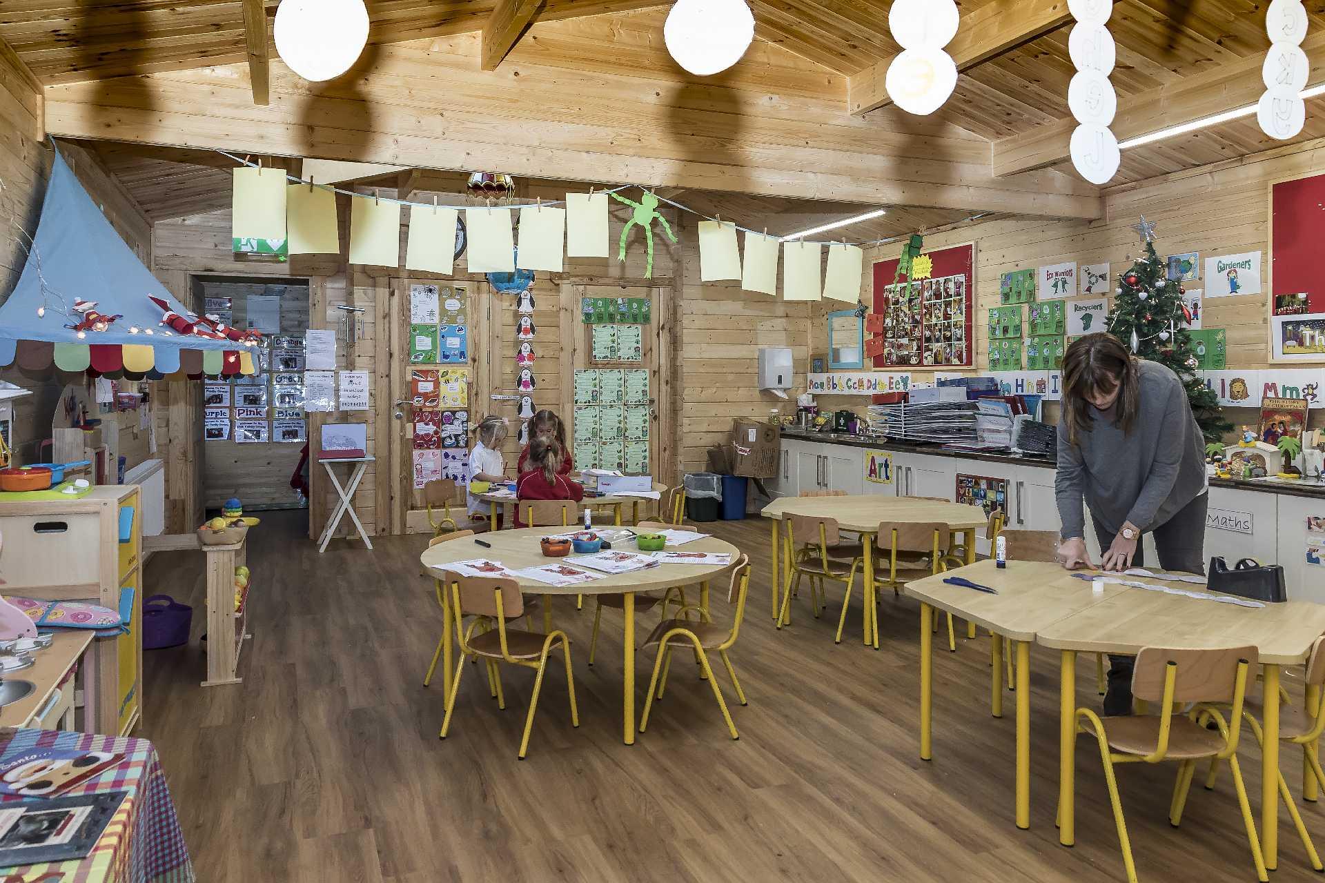 Pre School Log Cabin Project May