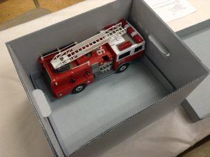 Fire truck in a box