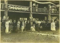 Print, Stockade Hotel July 4th