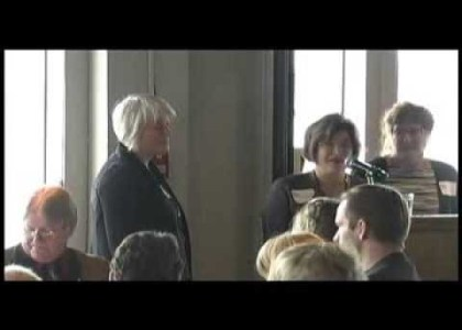 Thumbnail for the post titled: Inspirational talk at Champagne Gala Lunch: Aly, Tia and Nancy Hallberg