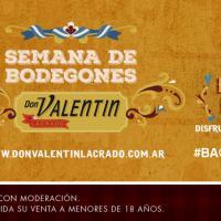 """Llega la """"Semana de los Bodegones Don Valentín Lacrado"""""""