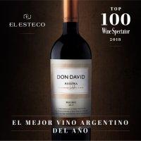 Don David Reserva fue elegido como el Mejor Vino Argentino por Wine Spectator