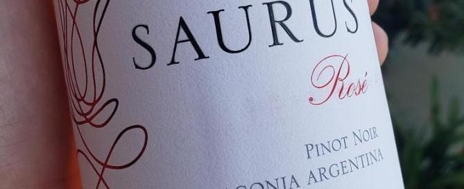 Saurus Pinot Noir Rosé 2018, un nuevo Rosado de Pinot Noir Patagónico 2