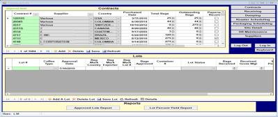 LSI Contracts HMI screenshot