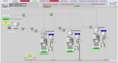 LSI Roaster HMI Screenshot