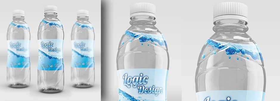 fancy beverage bottle details