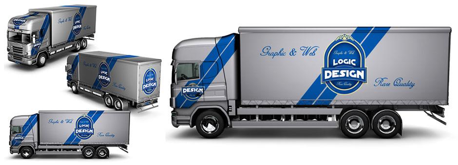 truck mock up designs