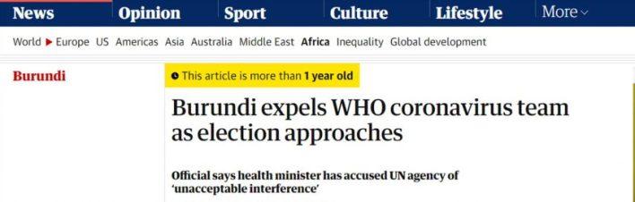 Tanzanija, Burundi, Haiti - sve 3 zemlje odbile cjepivo, sva 3 predsjednika mrtva 2