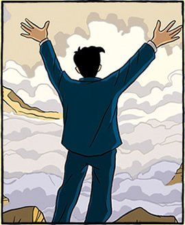 Picture from the Logicomix website