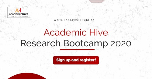 Academic Hive Research Bootcamp 2020