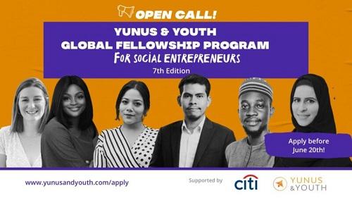 Yunus & Youth Global Fellowship Program 2021