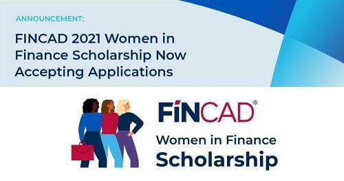 FINCAD Women in Finance Scholarship 2021