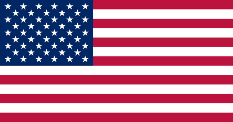 The current US flag