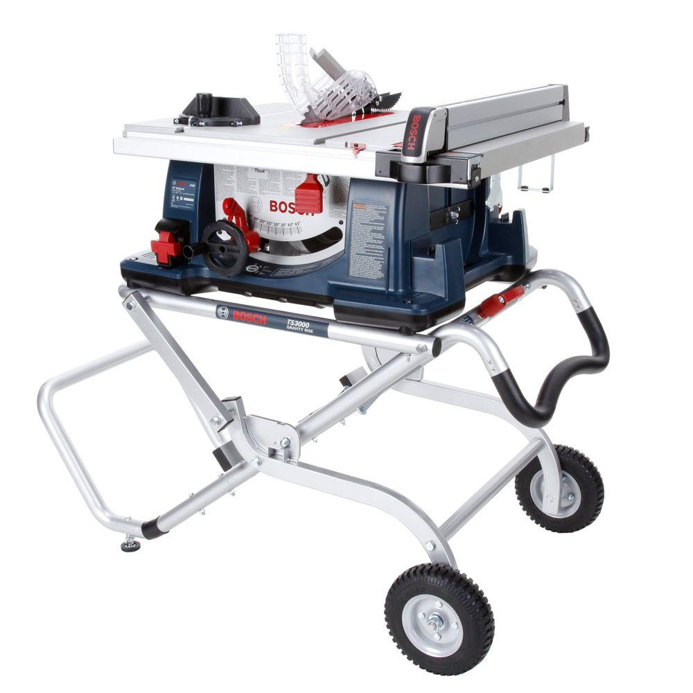 Bosch 4000-07 15 Amp 10-Inch Worksite Table Saw with Folding Saw