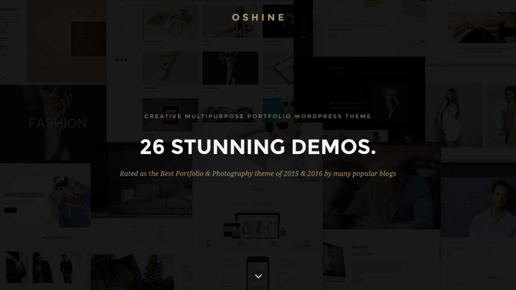 Oshine – Best Creative Multi-Purpose Universal WordPress Theme