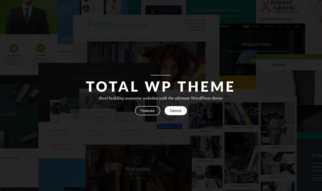 Total - Responsive Multi-Purpose WP Theme