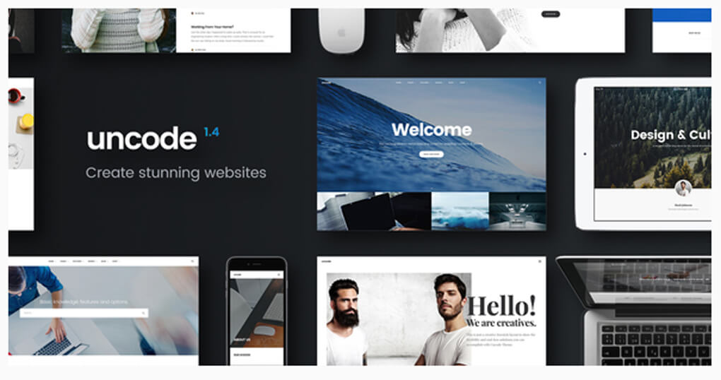 Uncode - Creative Multiuse WP Theme