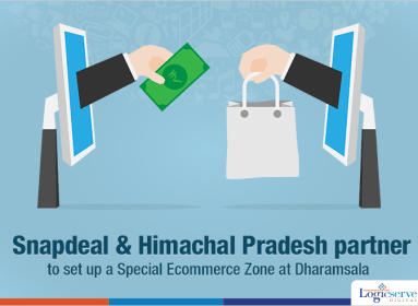 Snapdeal to set up a Special Ecommerce Zone at Dharamsala @LogicserveDigi
