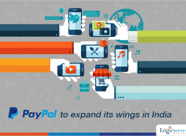 Paypal expand its wings in India @LogiscserveDigi
